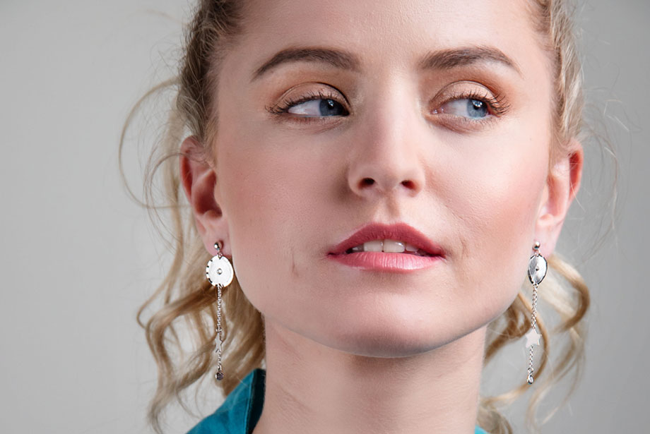ASTRA silver earrings by Charm Silver
