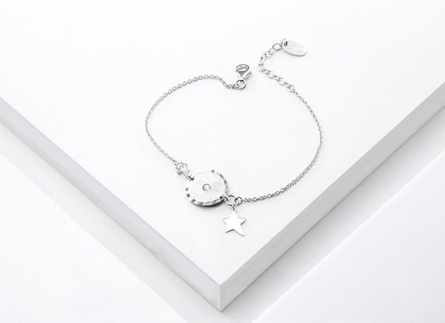 ASTRAL silver bracelet_Charm Silver