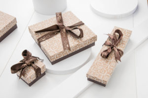 Charm Silver gift boxes