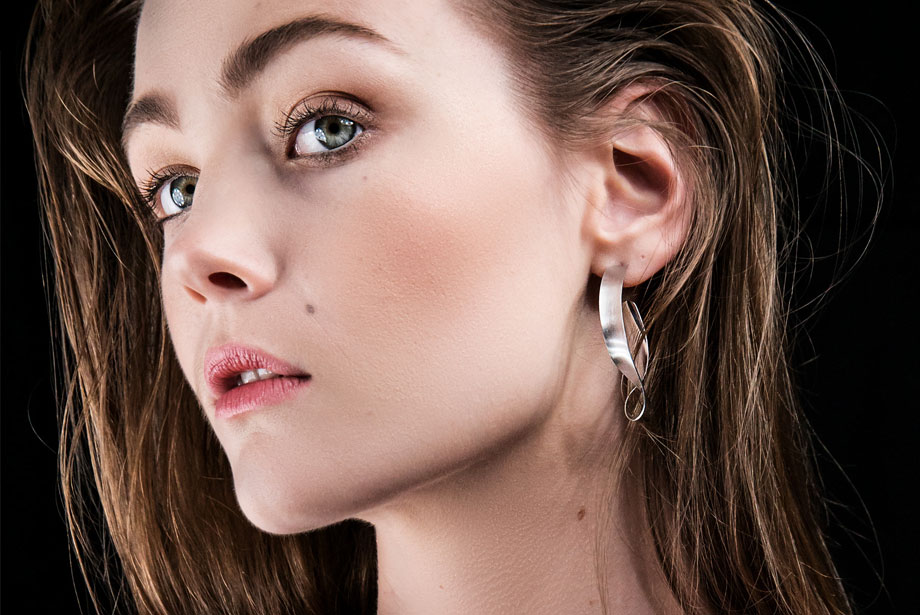 GLORIOUS silver earrings by Charm Silver