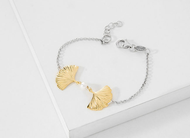 HIDDEN TREASURE golden silver bracelet_Charm Silver