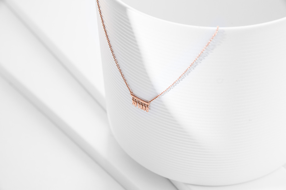 MAGIC TILES-silver necklace by Charm Silver