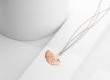 MY TREASURE rose golden silver necklace_Charm Silver