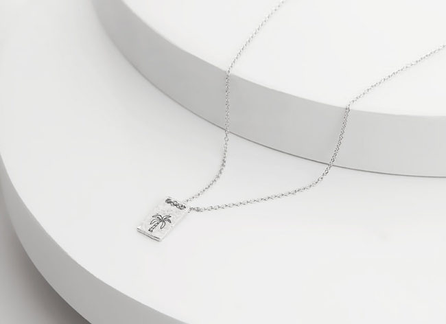 SOUTH BREEZE silver necklace by Charm Silver